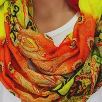 Paisley Bloom Scarf