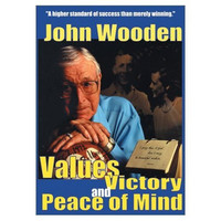 John Wooden - Values Victory And Peace Of Mind