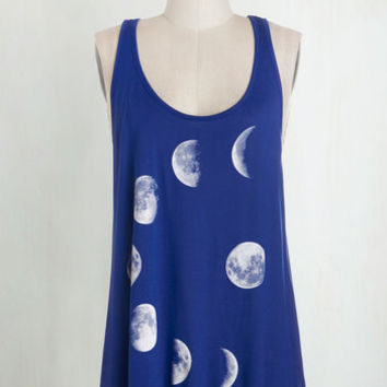 Cosmic Mid-length Tank top (2 thick straps) Never Phased Top