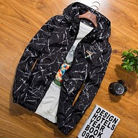 Jacket Men Thin Jackets Men Casual Lover Jacket Hip Hop Windbreaker Hooded Jacket Coat Zipper Parka Me