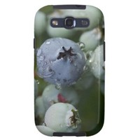 Just Blue - Blueberry macro Galaxy S3 Cases from Zazzle.com