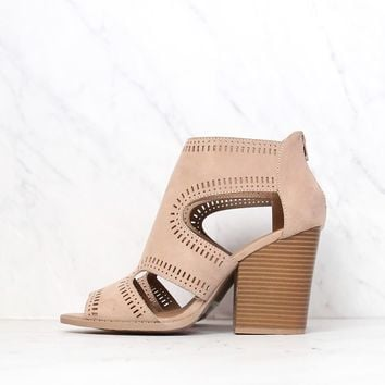 Talk Around Town Perforated Booties in More Colors