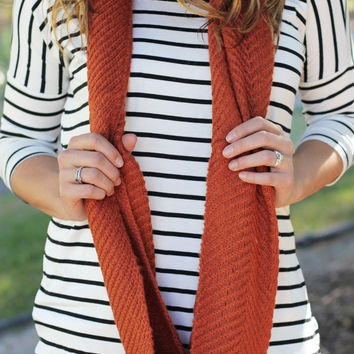 Forget The Rust Infinity Scarf