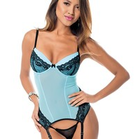 Diamond Romance Bustier Set