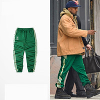 5color men women new Spring Hot Joggers Hip hop Street clothes workout Sweatpants Asian size Pants KANYE WEST Calabasas trousers