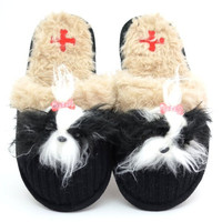 Shih Tzu Slippers by Fuzzy Nation   Pet Pawfection
