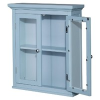 Hampton Wall Cabinet - Eton Blue