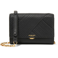 Michael Kors Collection - Yasmeen small quilted leather shoulder bag