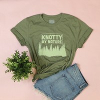 Knotty By Nature Adult Unisex Tee