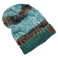 Cable Stripe Knitted Beanie - Scotch & Soda
