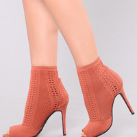 Soft And Roll Boot - Mauve
