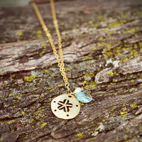 Sand Dollar Necklace - Cinnamon Girl - Cinnamon Girl Online Boutique