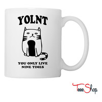You Only Live Nine Times YOLNT Coffee & Tea Mug