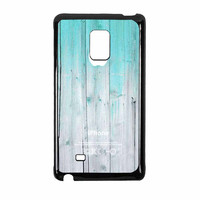 Wood Mint Apple Samsung Galaxy Note Edge Case