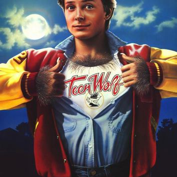 Teen Wolf 11x17 Movie Poster (1985)