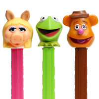 Muppets PEZ Candy Packs: 12-Piece Display