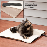 Heated Cat Beds: Indoor/Outdoor Heated Pad for Cats
