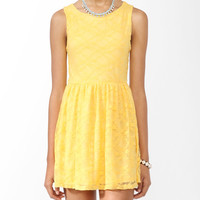 Sleeveless Lace Dress | FOREVER21 - 2000042169