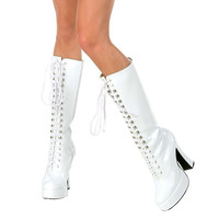 Easy (White) Adult Boots