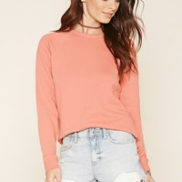 Long-Sleeved Knit Sweater