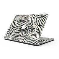 Watercolor Zebra Pattern - MacBook Pro with Retina Display Full-Coverage Skin Kit