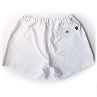 """The Miami Whites 5.5"""" Shorts in White by Kennedy"""