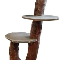 Organic Cat Tree Kitty Tower has Free Shipping is all Natural Unique and Customizable Cat Furniture in any height & color with any Budget
