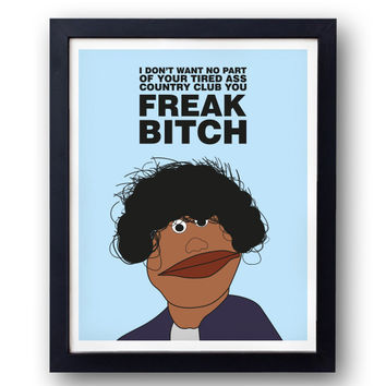 Franklin Bluth Quote Print