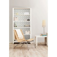 NuWallpaper Grey and White Brick Peel And Stick Wallpaper-NU1653 - The Home Depot