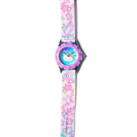 Sanrio Pastel Pop Hello Kitty Wrist Watch Purple One