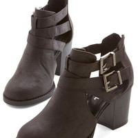 ModCloth Adventure Essentials Bootie in Black