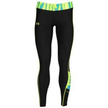 Under Armour Print Blocked Coldgear Fitted Tight - Women's at Foot Locker