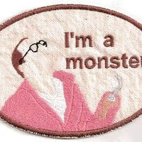 Arrested Development Buster Bluth Patch by StoriedThreads on Etsy