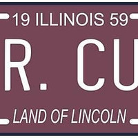 Ernie Banks Mr. Cub Chicago Cubs 1959 IL License Plate