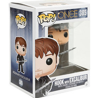 Funko Once Upon A Time Pop! Hook With Excalibur Vinyl Figure
