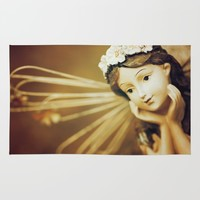 Daydreamer - Vintage Angel Rug by Legends Of Darkness Photography