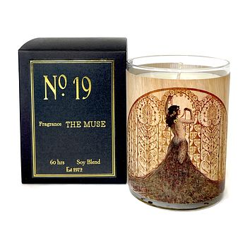 Wood Candle No 19 Muse