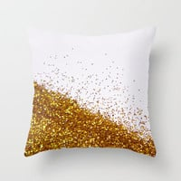 Glitter Is My Favorite Color II (NOT REAL GLITTER - photo) Throw Pillow by Galaxy Eyes | Society6