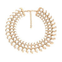 Fashion Stylish Classy Best Gift for Lovers Birthday Anniversary Valentines Christmas  Pearl Necklace Collarbone Chain _ 8576