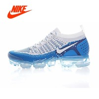 Original New Arrival Authentic NIKE AIR VAPORMAX FLYKNIT 2 Mens Running Shoes Sport Outdoor Sneakers Good Quality 942842-104