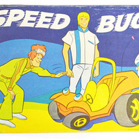 Vintage 70s Speed Buggy Hannah-Barbera Board Game Complete
