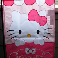 HELLO KITTY .... Playing Peek A Boo ... Garden Flag