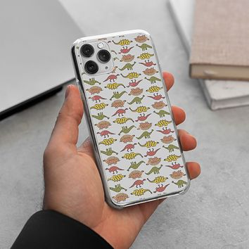 Dinosaurs Pattern iPhone 11 Pro Max Case