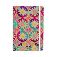 """Nika Martinez """"Happy Flowers"""" Floral Abstract Everything Notebook"""