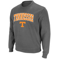 Tennessee Volunteers Arch and Logo Sweatshirt – Charcoal
