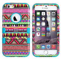 For Apple iPhone 6 / 6 Plus Hard Soft Hybrid Impact Protective Case Cover Skin