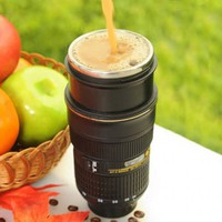 new Fashion Camera Stainless Steel Coffee Cup