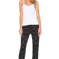 Michael Stars Cami & Drawstring Pant PJ Set in Stars