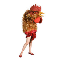 Giant Chicken Halloween Costume by potratz on Etsy