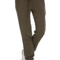 Classic Lightweight Jogger Pants Olive